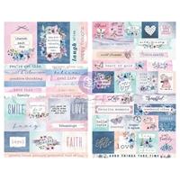Εικόνα του Prima Marketing Watercolor Floral Stickers - Αυτοκόλλητα