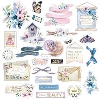 Εικόνα του Prima Marketing Watercolor Floral Cardstock Ephemera