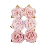 Εικόνα του Prima Marketing My Sweet Χάρτινα Λουλούδια  Mulberry - Stitched