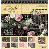"""Εικόνα του Graphic 45 Μπλοκ Scrapbooking Διπλής Όψης 12""""X12"""" - Elegance"""