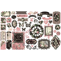 Εικόνα του Graphic 45 Cardstock Ephemera – Elegance