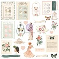 Εικόνα του Prima Marketing My Sweet Cardstock Ephemera - Shapes, Tags, Words
