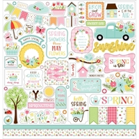 "Εικόνα του Echo Park Cardstock Stickers 12""X12"" – Welcome Spring"