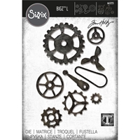 Εικόνα του Sizzix Bigz L Die By Tim Holtz - Mechanical