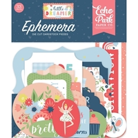 Εικόνα του Echo Park Cardstock Ephemera - Little Dreamer Girl
