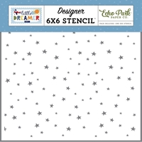 Εικόνα του Echo Park Little Dreamer Boy Stencils - Explore Stars