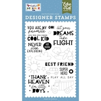 Εικόνα του Echo Park Stamps – Never Stop Exploring - Little Dreamer Boy
