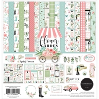 "Εικόνα του Carta Bella Double-Sided Collection Kit 12""x12"" – Flower Garden"