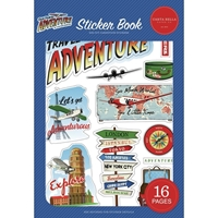 Εικόνα του Carta Bella Sticker Book - Our Travel Adventure