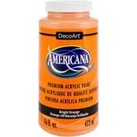 Εικόνα του Ακρυλικό Χρώμα Americana Bright Orange - 16oz