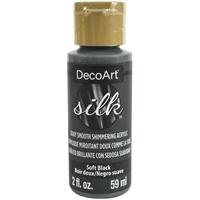 Εικόνα του Ακρυλικό Χρώμα DecoArt Silk 59ml - Soft Black