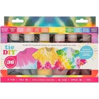 Εικόνα του American Crafts Medium Tie Dye Kit 12 Colors - Vivid Distressed 36 Projects