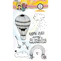 Εικόνα του Studio Light Art by Marlene Clear Stamps - Nr.61, Sunny Days