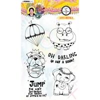 Εικόνα του Studio Light Art by Marlene Clear Stamps - Nr. 63, Goofy Animals
