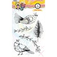 Εικόνα του Studio Light Art by Marlene Clear Stamps - Nr. 64, Sweet Birdie