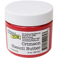 Εικόνα του Crafter's Workshop Stencil Butter 2oz - Crimson
