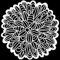 Εικόνα του Crafter's Workshop Template 15x15 - Cactus Dahlia