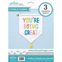 """Εικόνα του Jolee's Easy Image Fusible Cotton Transfers 8.5""""X11"""" - Χαρτί Σιδερότυπου"""
