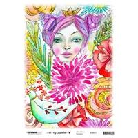 Εικόνα του Studio Light Marlene's World Rice Paper Sheet A4 - Nr. 13