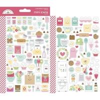 Εικόνα του Dooblebug Mini Cardstock Stickers - Made with Love