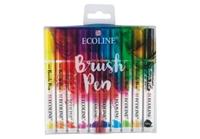 Εικόνα του Royal Talens Μαραδόροι Ecoline Coloured Brush Pen - Set of 10
