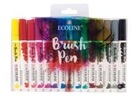 Εικόνα του Royal Talens Μαραδόροι Ecoline Coloured Brush Pen - Set of 15