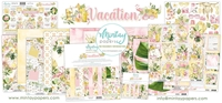 Εικόνα του Mintay Papers Συλλογή Scrapbooking Vacation - Bundle με Δώρο Element Sheet 12''x12''