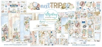 Εικόνα του Mintay Papers Συλλογή Scrapbooking Next Trip - Bundle με Δώρο Element Sheet 12''x12''
