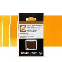Εικόνα του Daniel Smith Extra Fine Χρώμα Ακουαρέλας Half Pan - Quinacridone Gold