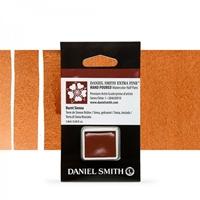 Εικόνα του Daniel Smith Extra Fine Χρώμα Ακουαρέλας Half Pan - Burnt Sienna