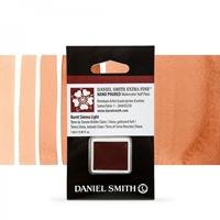 Εικόνα του Daniel Smith Extra Fine Χρώμα Ακουαρέλας Half Pan - Burnt Sienna Light
