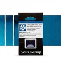 Εικόνα του Daniel Smith Extra Fine Χρώμα Ακουαρέλας Half Pan - Phthalo Blue (Green Shade)