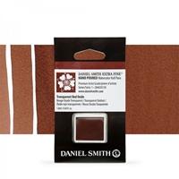 Εικόνα του Daniel Smith Extra Fine Χρώμα Ακουαρέλας Half Pan - Transparent Red Oxide
