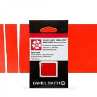 Εικόνα του Daniel Smith Extra Fine Χρώμα Ακουαρέλας Half Pan - Pyrrol Scarlet
