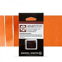 Εικόνα του Daniel Smith Extra Fine Χρώμα Ακουαρέλας Half Pan - Quinacridone Burnt Orange