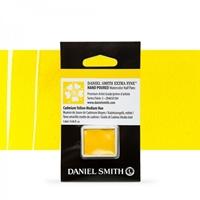 Εικόνα του Daniel Smith Extra Fine Χρώμα Ακουαρέλας Half Pan - Cadmium Yellow Medium Hue