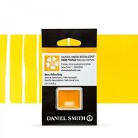 Εικόνα του Daniel Smith Extra Fine Χρώμα Ακουαρέλας Half Pan - Hansa Yellow Deep