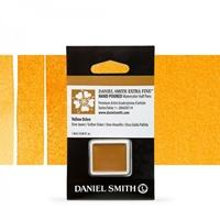 Εικόνα του Daniel Smith Extra Fine Χρώμα Ακουαρέλας Half Pan - Yellow Ochre