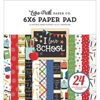 """Εικόνα του Echo Park Μπλοκ Scrapbooking Διπλής Όψης 6""""x6"""" – I Love School"""