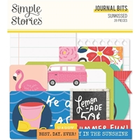 Εικόνα του Simple Stories Bits & Pieces Die-Cuts 39 – Sunkissed