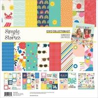 """Εικόνα του Simple Stories Collection Kit 12""""X12"""" - Sunkissed"""