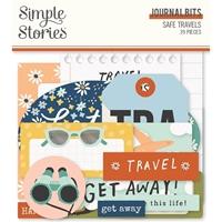 Εικόνα του Simple Stories Bits & Pieces Die-Cuts 39 – Safe Travels