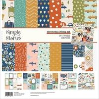 """Εικόνα του Simple Stories Collection Kit 12""""X12"""" - Safe Travels"""