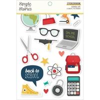 Εικόνα του Simple Stories Μπλοκ αυτοκόλλητων – School Life