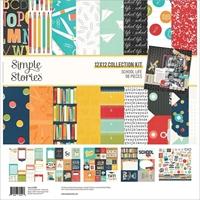 """Εικόνα του Simple Stories Collection Kit 12""""X12"""" - School Life"""