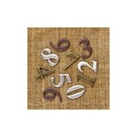 Εικόνα του Μεταλλικά Διακοσμητικά Finnabair Mechanicals - Numbers