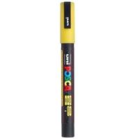 Εικόνα του Μαρκαδόρος POSCA 3M Fine Bullet Tip Pen – Glitter Yellow