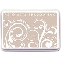 Εικόνα του Μελάνι Hero Arts Shadow Ink Pad  – Soft Brown