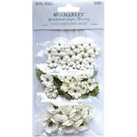 Εικόνα του 49 & Market Royal Posies Χάρτινα Λουλούδια - Ivory