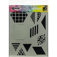 """Εικόνα του Dyan Reaveley's Dylusions Stencils 9""""X12"""" - 2"""" Quilt"""